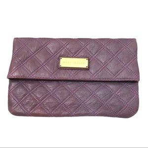 Authentic Marc Jacobs Clutch Quilted Leather Bag